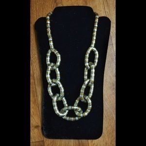 Chain necklace, statement necklace, women's chain.